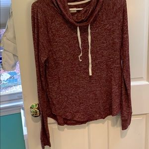 Hollister cowl neck sweatshirt